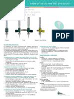 Flujometro Oxygen
