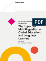 539682 Perspectives Impact on Multilingualism