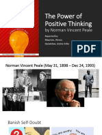 The Power of Positive Thinking Key Takeaways