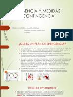 EMERGENCIA Y MEDIDAS       DE CONTINGENCIA.pptx