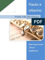 Elenco Passi Orchestrali Flauto