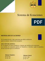Sistemas de Ecuaciones y Tipos de Solucion