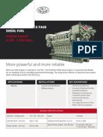 Colt Pielstick PA6B Data Sheet