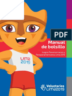 Manual de bolsillo del voluntariado panamericanos lima 2019