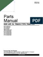 manual de partes bulldozer caterpillar d6k xl