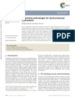 "AMBROSI, A., PUMERA, M., ""3D-printing technologies for electrochemical applications"", Chemical Society Reviews, v. 45, n.10, pp. 2740-2755, Apr. 2016."