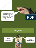 08 - Degrees of Comparison.ppt