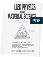 Applied Physics and Material Science