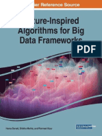 Nature Inspired Algorithms Big Data Frameworks