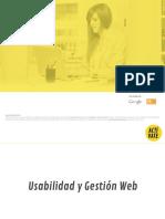 visibilidad y gestión web