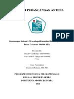 Laporan Pembuatan Antena LPDA