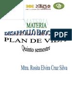 Antología PLAN de VIDA Quinto Semestre