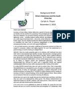 Thayer China's Diplomacy and the South China Sea