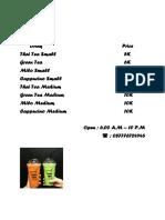 PriceList_Drink.docx