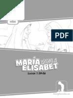 María Visita a Elisabeth (Español)