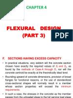 Chapter 4 Flexural Design-(Part 3)