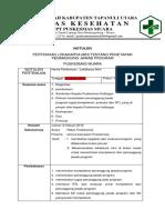 6. Notulen Dan Daftar Hadir Kompetensi Dan Penaggung Jwb Program