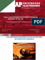 SESION 7. ENFOQUES DE INTERPRETACION EN MATERIA DE DD FF.ppt