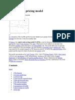 Capital Asset Pricing Mode1
