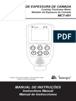 MCT-401-1100-BR - Manual