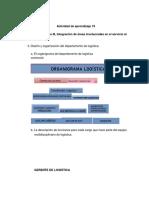 Actividad de Aprendizaje 19 Evi 5 Integracion de Areas Invlucradas en El Servicio Al Cliente