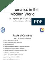 Copy of Mathematics in the Modern World 1(1)