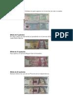Personajes Billetes de Guatemala
