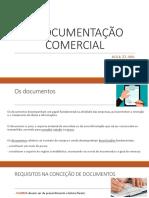 A Documentação Comercial