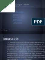 La Dinámica de Las Instituciones Políticas Argentinas 1880-1999