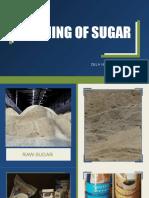 Refining of Sugar