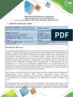 Syllabus Del Curso Mercadeo Agropecuario