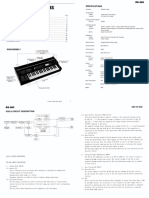 Rs-505 Service Notes