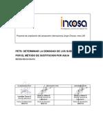 INCOSA-SGI-GA-CA-010 Densidad de Campo Metodo de Sustitucion Por Agua (Rev.0)