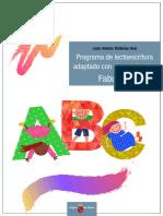 Programa de lectoescritura adaptado con claves visuales