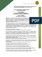 código de procedimientos adminstrativos
