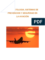 Psicopatología, sistemas de prevención y seguridad en aviación