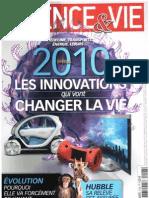 Science & Vie n°1108 de janvier 2010 by amililo