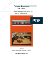 Projecte de recerca primària Com conservar els aliments?