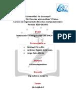 Instalacion y Configuracion Del Dhcp y Wins