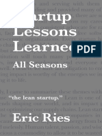 Startup lessonslearned
