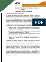 Lineamientos Pedagógicos y Curriculares Para La Educación Inicial