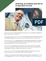 Astronautas Reconocen La Gloria de Dios