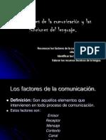 Factores de La Comunicacion