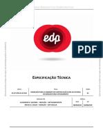 Especificações Técnicas EDP