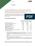 Comunicado de Prensa Ternium