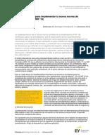 Ey Tres Alternativas Para Implementar La Nueva Norma de Arrendamientos NIIF 16