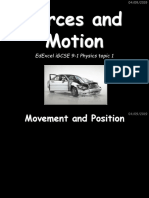 Topic 1 - Forces and Motion.pptx
