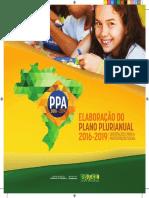 ELABORAÇÃO PPA 2016-2019