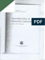 Introduccion Al Derecho Del Trabajo Nieves Mujica