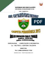 CARPETA PEDAGOGICA 2013 ALIPIO  computacion INGLES COMUNIC 1,2,3,4,5 sec.docx